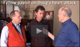 Pastor Dave Talks about Doug's Heart Attack Book